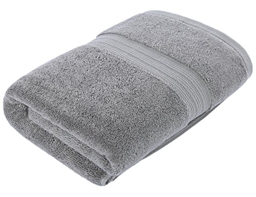 Chama Premium 700 GSM Extra Large Bath Towel(30 x 56 Inch) Luxury Bath Sheet 100% Cotton Soft Absorbent Available in More Colors for Home Hotel Spa - Grey