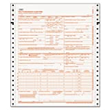 CMS-1500 Forms, 2-Part, 9-1/2''x11'', 1500 Sets, Sold as 1 Carton