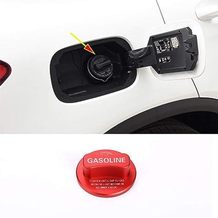 Aluminum Alloy Gasoline Fuel Tank Cap Cover Trim Car Universal Accessories for Mercedes benz A B C E S CLA GLA GLK GLC Class W204 W205 W212 W213 W176 W222 X253 red