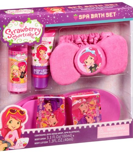 Strawberry Shortcake Bathroom Set