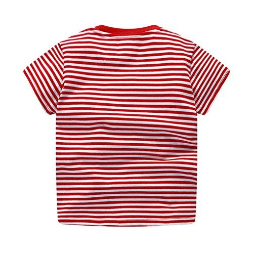 Sagton® Toddler Kids Clothes Baby Boys Cartoon Dinosaur Print Tops T-Shirt Blouse