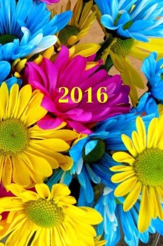 2016: Calendrier/Agenda: 1 semaine sur 2 pages, Format 6