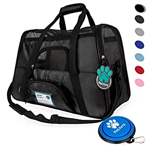 41. PetAmi Premium Airline Approved Soft-Sided Pet Travel Carrier