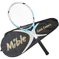 Mible/迈博 网球拍蓝色 碳素男女专业网拍带线