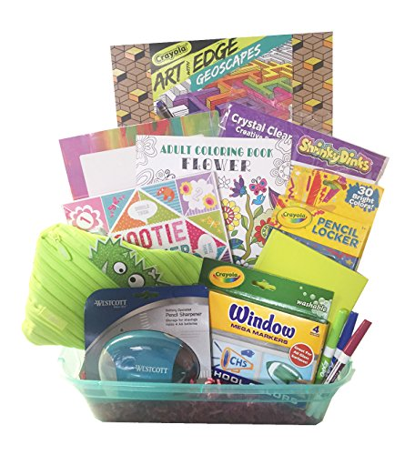 Girls Just Want to Have Creative Fun Gift Basket - Perfect for Easter, Christmas, Birthday, Get Well, or (Gift Basket Just Basket)