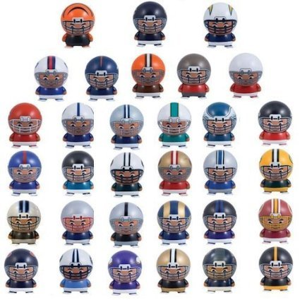 (NFL FOOTBALL SET of 32 BUILDABLE TEAM FIGURES - NFL Football Team Buildable Figure Set Consisting of 32 Team Buildable 2