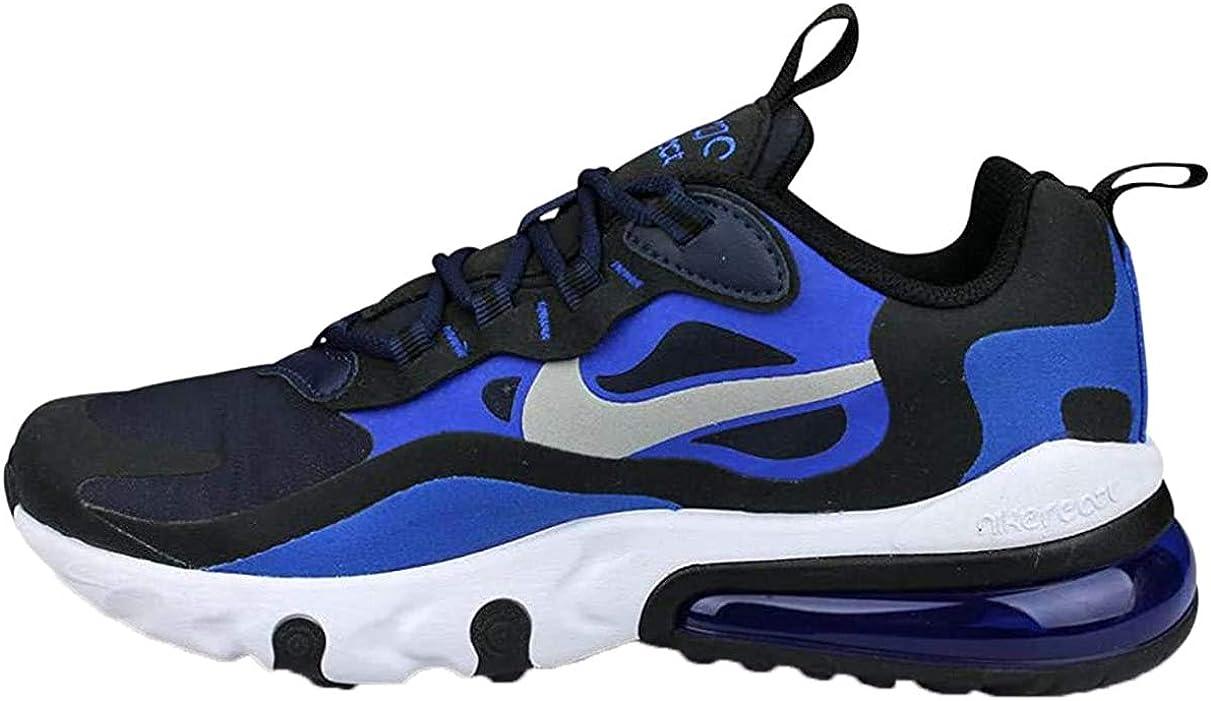 Amazon Com Nike Air Max 270 React Gs Big Kids Bq0103 401