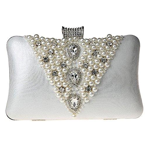 TOOKY silver femme femme pour silver pour Pochette Pochette Pochette TOOKY TOOKY silver femme pour BqnAdTwpU