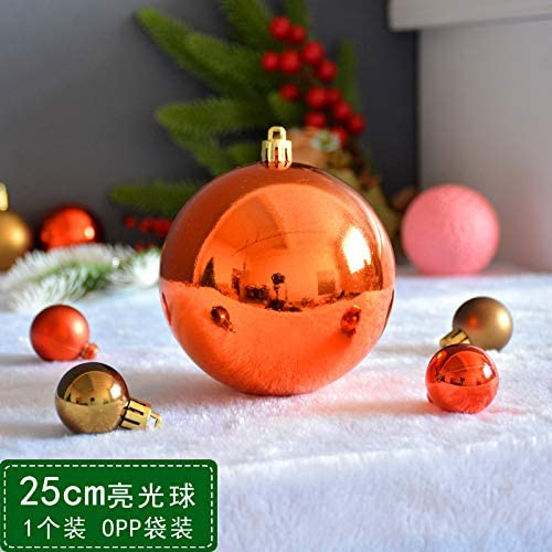 QZXCD Boule de No/ël Bronze Boule de No/ël 6//8//10//12//15//30 40cm Boule de No/ël Boule de lumi/ère Matte Grande d/écoration Boule Suspendue N