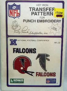 Pretty Punch Atlanta Falcons Transfer Pattern