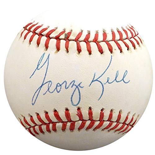 Autographed George Kell Baseball - Official AL Beckett BAS #H75202 - Beckett Authentication - Autographed Baseballs - George Autographed Baseball