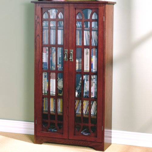 037732010731 - Window Pane Media Cabinet - Cherry carousel main 2