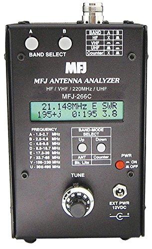 MFJ-266C HF/VHF/220/UHF SWR Analyzer