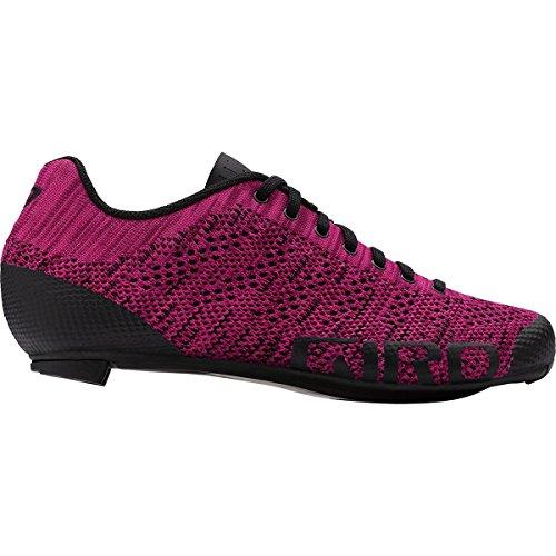 Giro Empire E70 Knit Cycling Shoes - Women's Berry/Bright Pink - Giro Women Cycling Shoes