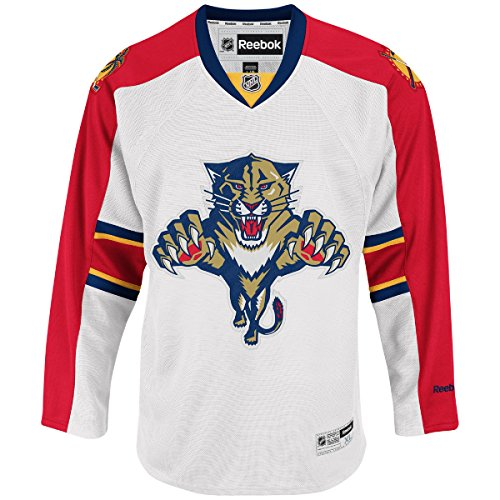 Florida Panthers Youth Premier Alternate Team Jersey White (Youth S/M)
