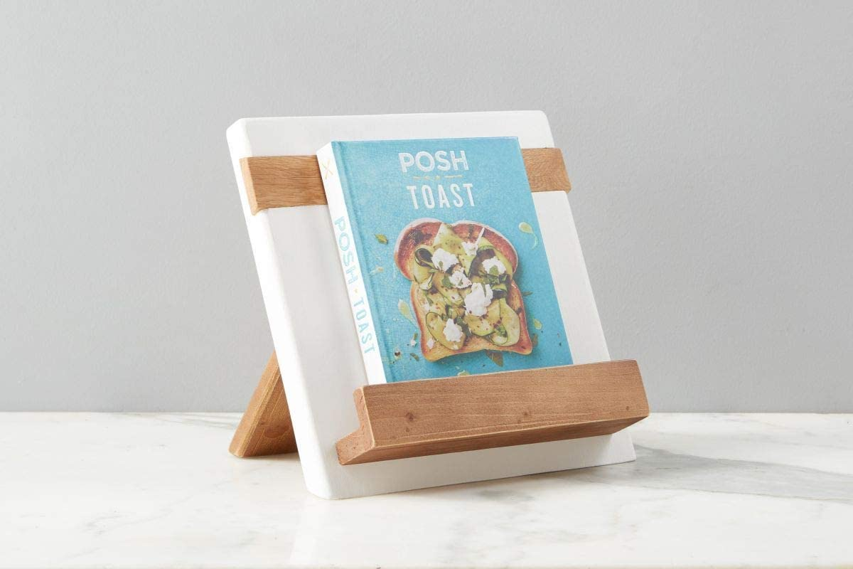 11 x 4 x 11.5 et/úHOME White Mod iPad//Cookbook Holder