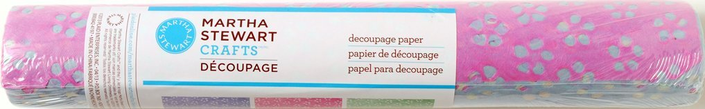 Martha Stewart Crafts Decoupage Rolled Papers 33330 Eyelet