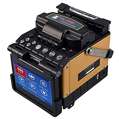 Fiber Optic Fusion Splicer KL-280E Core-Core Alignment By PAS Technology Kit Includes Cleaver, Fiber Stipper and Carrying Case