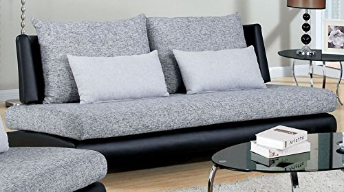Contemporary Style Saillon Sofa by Furniture of America