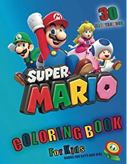 Mario And Friends Colouring Book A Great Fun Colouring Book For