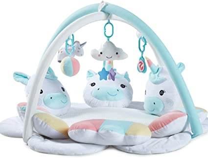 puddingt tapis d eveil bebe musical des la naissance ours polaire baby gym jeu de cerveau avec plus de 5 jouets et activites