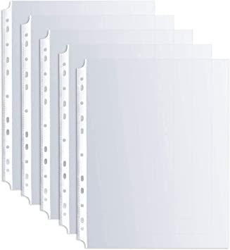 500 Sheet Protectors Holds 8.5 x 11 inch Sheets