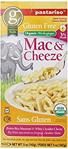 Pastariso Organic Quick-Cooking Brown Rice Mac and White Cheeze, Elephant, 5-Ounce