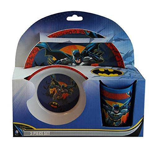 Batman 3-Piece Dinnerware Set   B00I9HMV2G