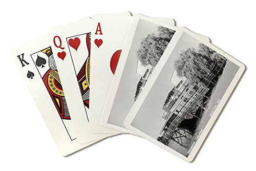 Seattle, Washington - Exterior View of the Showboat Theatre (Playing Card Deck - 52 Card Poker Size with Jokers) ()
