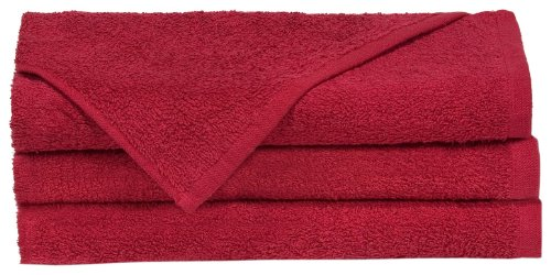 Towels by Doctor Joe Think Thick Dark Red 16