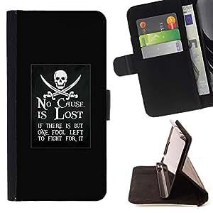 - Queen Pattern FOR Sony Xperia Z1 L39 /La identificaci????n del cr????dito ranuras para tarjetas tir????n de la caja Cartera de cuero cubie - no cause is lost pirate ship movemen