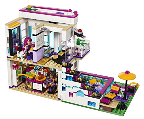Amazon Lego Friends Livis Pop Star House 41135 Toys Games