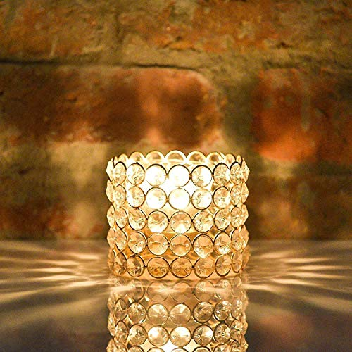Crystal Candle Holder Stand