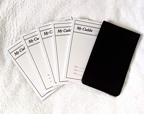Golf Yardage Book Holder with 5 DIY Pro Yardage Books