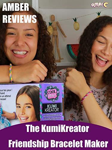 Amber Reviews The KumiKreator Friendship Bracelet Maker