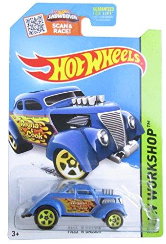 Hot Wheels, 2015 HW Workshop, Pass N' Gasser [Blue] Die-Cast Vehicle - Racing Hot Works