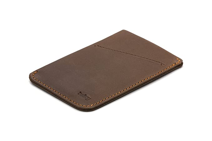 Bellroy Leather Card Sleeve Wallet Cocoa