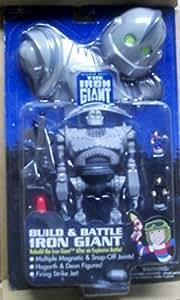 Amazon Com Build And Battle Iron Giant Toys Amp Games