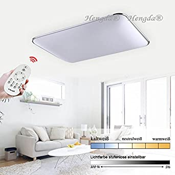 Hengda 96W LED Deckenleuchte Küchen Badleuchte Wohnzimmer ...