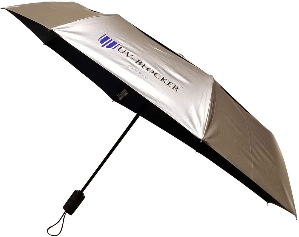 UV-Blocker Umbrella with Solar Protection | Blocks 99% of UVA/UVB Sun Rays to Protect Against Skin Cancer