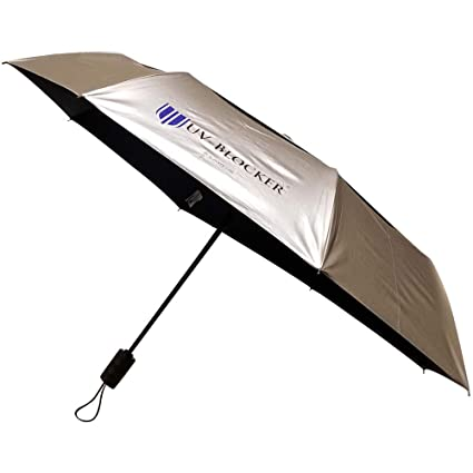 UV-Blocker Umbrella with Solar Protection | Blocks 99% of UVA/UVB Sun Rays  to Protect Against Skin Cancer | Recommended by the Melanoma International