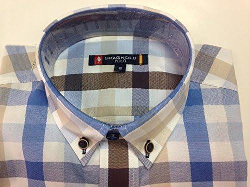 Spagnolo Camisa Oxford Algodon (6 AÑOS): Amazon.es: Ropa y accesorios
