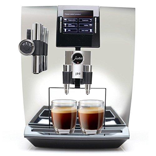 Coffee Automatic Espresso Makers Chrome (Jura J90 Automatic One-Touch Coffee Machine Chrome)