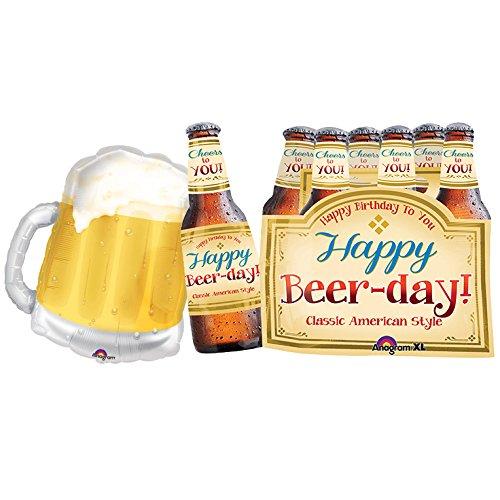 Happy Beer-Day Birthday Decorations - 25