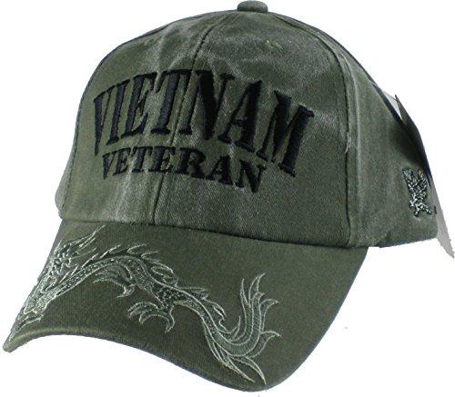 Vietnam-Veteran-OD-Green-Dragon-Cap-Green-Adjustable