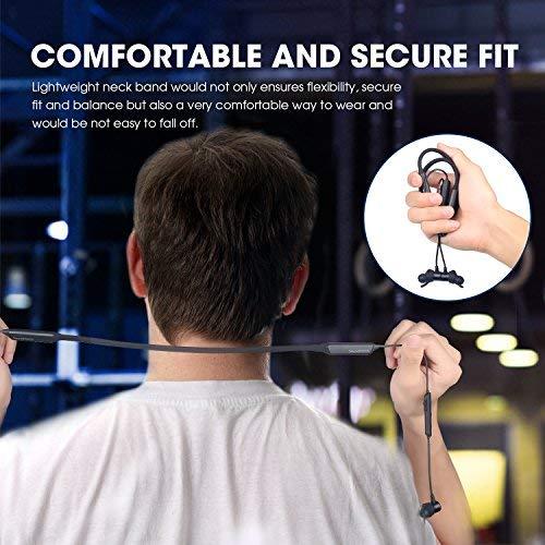 Dual Akkus Bluetooth Kopfhörer, Soundpeats Force Nackenbügel