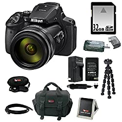 Nikon Coolpix P900 Camera With 32gb Accessory Kit