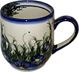 Polish Pottery Coffee or Tea 10 oz Mug - Wild Field