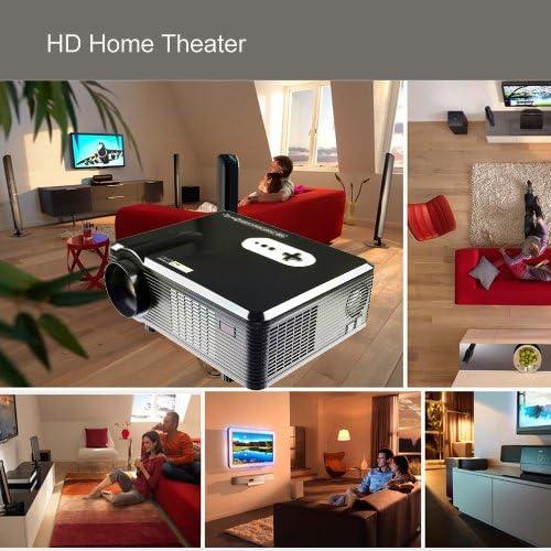 Excelvan CL720D - proyector portátil HD Home Cinema (3000 lúmenes ...
