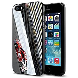 NASCAR RACING ACTION, Cool iPhone 5 5s Smartphone Case Cover [ Original by PhoneAholic ]